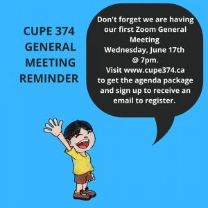 Annual General Membership Meeting @ Zoom